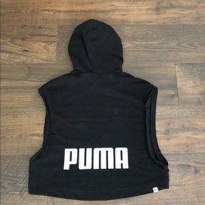 Puma sleeveless sweatshirt